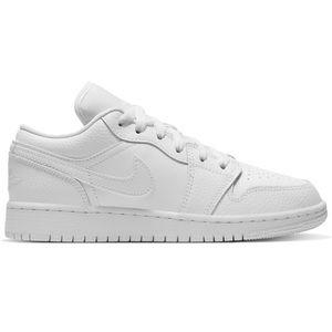"""*NEW* Air Jordan 1 Low """"White"""" (GS)"""